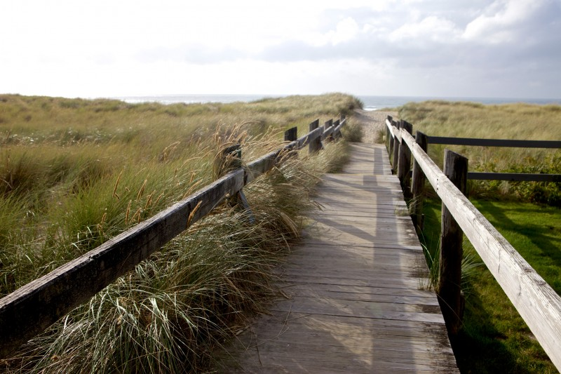 Boardwalk in Cannon Beach