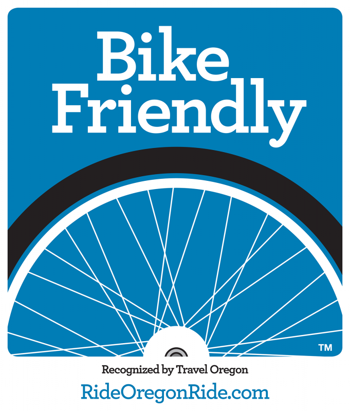 Travel Oregon Bike Friendly Hotel