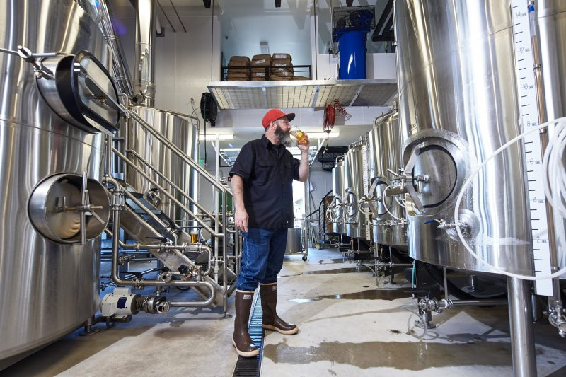 Brewing Beer in Cannon Beach, Oregon