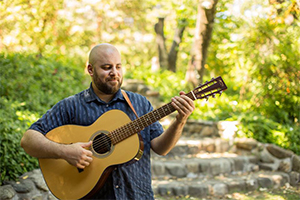 Enjoy live music by Jesse Meade
